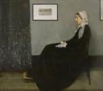 Аранжировка в сером и чёрном, № 1: портрет матери